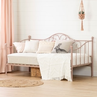 South Shore Lily Rose Metal Daybed