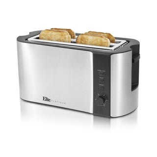 Elite ECT-3100 4-Slice Long Toaster