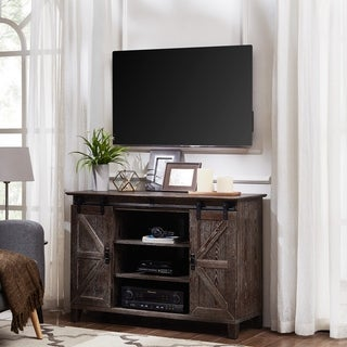 Carbon Loft Conway Barn Door TV Stand