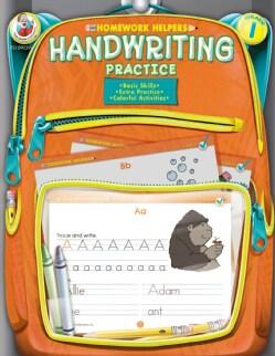 Homework Helper Handwriting Practice, Grade 1 (Paperback)
