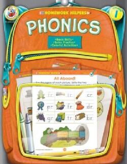 Homework Helper Phonics, Grade 1 (Paperback)