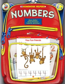 Homework Helper Numbers, Grades Prek to 1 (Paperback)
