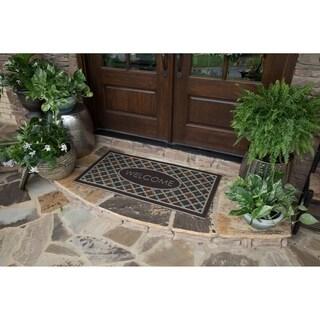 Mohawk Ornamental Flowery Tiles Entry Mat - 2' x 4'