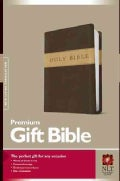 Holy Bible: New Living Translation, Dark Brown/Tan, Tutone, LeatherLike, Gift and Award (Paperback)