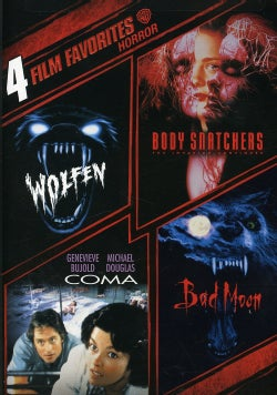 4 Film Favorites: Horror (DVD)
