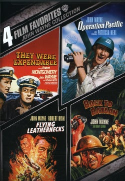 4 Film Favorites: John Wayne War (DVD)