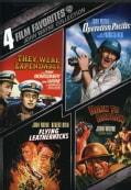 4 Film Favorites: John Wayne War (DVD)
