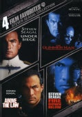 4 Film Favorites: Steven Seagal (DVD)