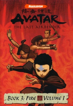 Avatar: The Last Airbender Book 3 - Fire Vol. 1 (DVD)