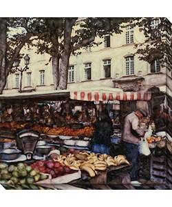 Ernesto Rodriguez 'Aix en Provence' Canvas Art