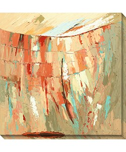 Maxine Price 'Bold Beginnings I' Canvas Art