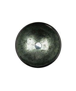 Fontaine Green Foil Glass Vessel Bathroom Sink