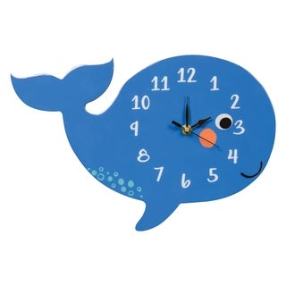 Trend Lab Blue Whale Wall Clock