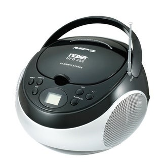 Portable MP3/CD Player with AM/FM Stereo Radio