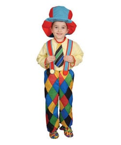 Deluxe Circus Clown Children's Costume