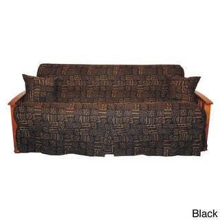 Kenya Skirted Futon Slipcover Set