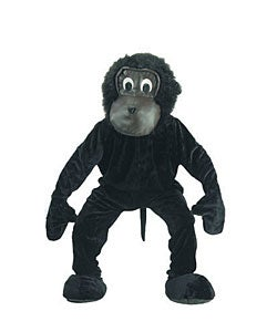 Scary Gorilla Mascot Adult Costume
