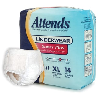 Attends Super Plus Underwear (Case of 56)
