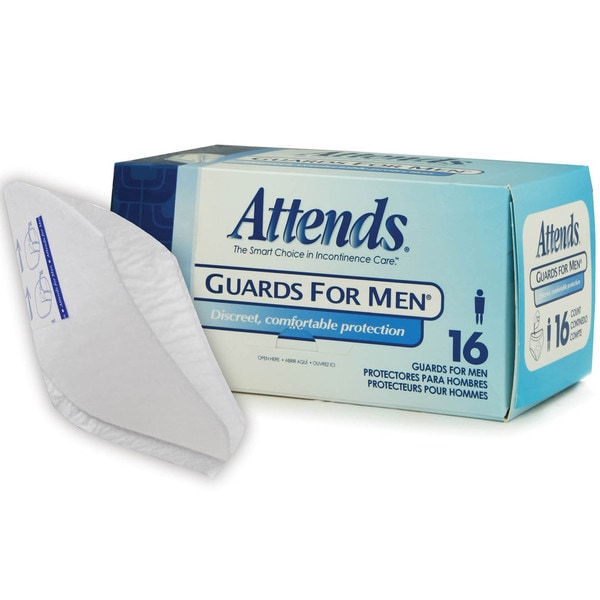 Attends Men's Form-fitting Guards (Case of 64)