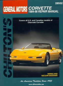 Chilton's General Motors Corvette 1984-96 Repair Manual (Paperback)