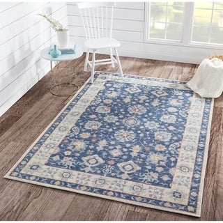 Momeni Anatolia Machine Made Wool and Nylon Area Rug