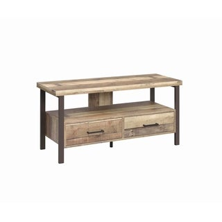 """Carbon Loft Wilson Weathered Pine 48-inch TV Console - 47.25"""" x 15.50"""" x 23.50"""""""