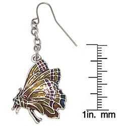 CGC Monarch Butterfly Pewter Earrings