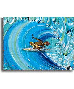 Valiere 'Bombay Harbor' Stretched Canvas Art
