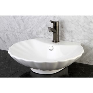 Oceana White China Vessel Sink