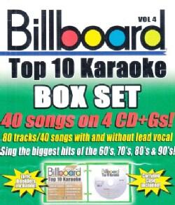 Sybersound - Billboard Top 10 Karaoke Box Set Vol 4