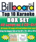Sybersound - Billboard Top 10 Karaoke Box Set Vol 4