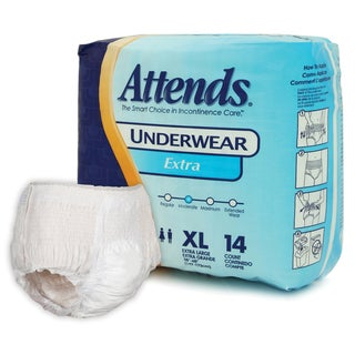 Attends Extra - Extra Large Underwear (Case of 56)