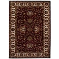 Hand-tufted Teresa Burgundy Wool Rug (8' x 10'6)