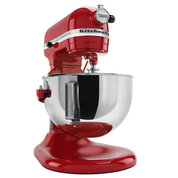 KitchenAid KV25G0XER Empire Red 5-quart Pro 5 Plus Series Bowl-Lift Stand Mixer