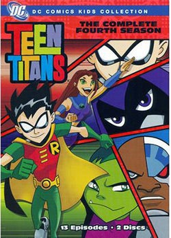 Teen Titans: The Complete Fourth Season (DVD)
