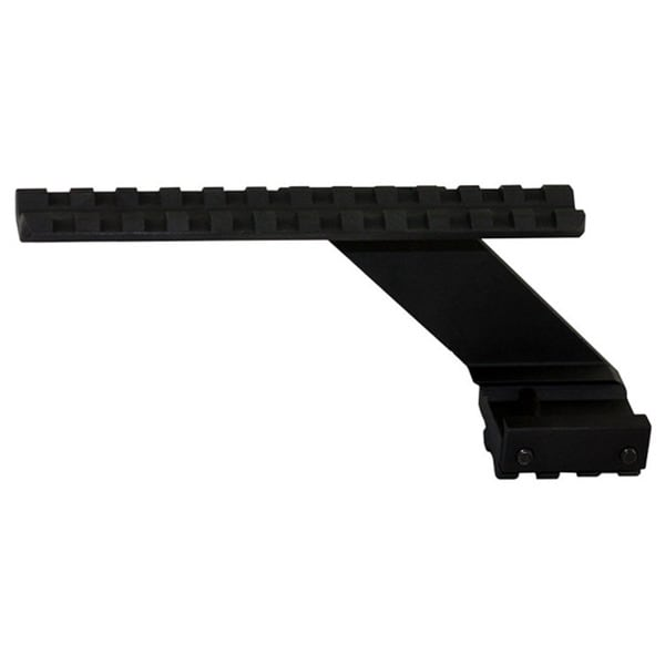 Heavy-duty Black Aluminum Pistol or Handgun Universal Scope Mount