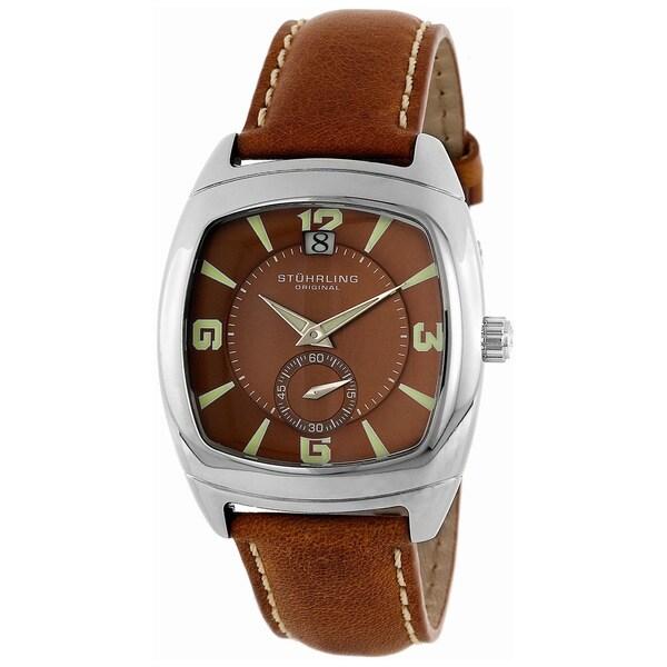 Stuhrling Original Men's Easy-read Swiss Quartz Watch
