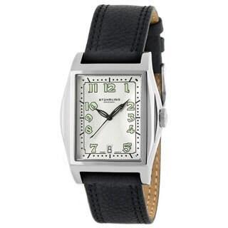 Stuhrling Original Basilica II Men's Tonneau Watch
