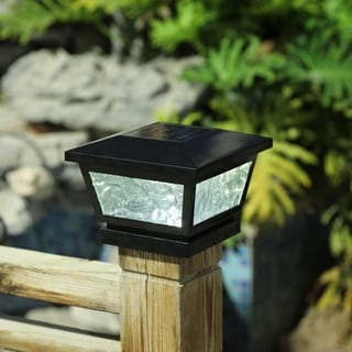Solar Adjustable Post Cap Light