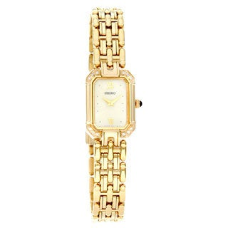 Seiko Women's Goldplated Quartz Watch
