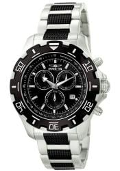 Invicta Men's Invicta II Black and Stainless Steel Watch