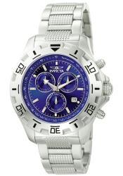Invicta Men's Invicta II Blue Dial Steel Chronograph Watch