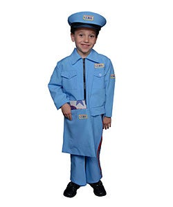 Deluxe Children's Mail Carrier Costume Set