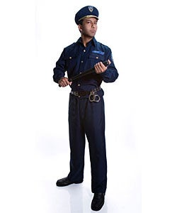 Adult Police Officer Costume Set