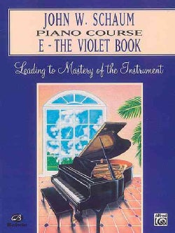 John W. Schaum Piano Course: The Violet Book (Paperback)