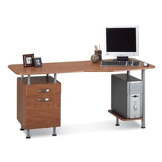 Mayline Eastwinds Espresso Computer Desk with File