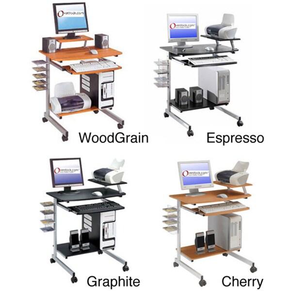 Ergonomically Designed Space-Saver Computer Desk