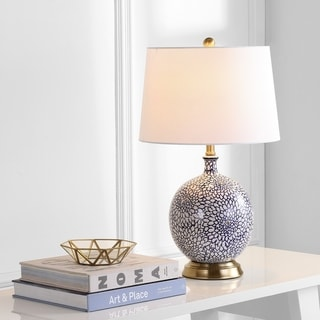 "Safavieh Lighting 25-inch Orianna LED Table Lamp - 15""x15""x25"""