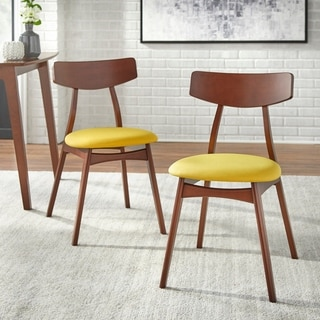 Simple Living Solid Beechwood Cadiz Dining Chairs (Set of 2)
