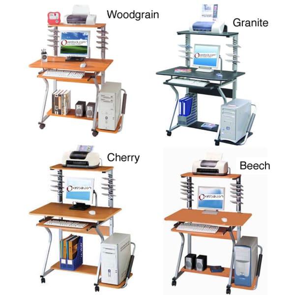 Ergonomically-designed Compact Computer Desk